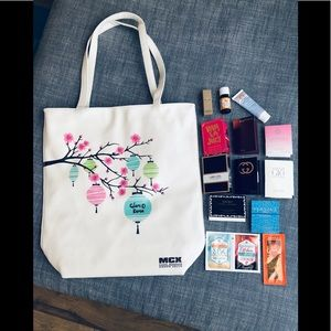 Handbags - Glam-o-Rama Tote, Designer Fragrances, & Goodies